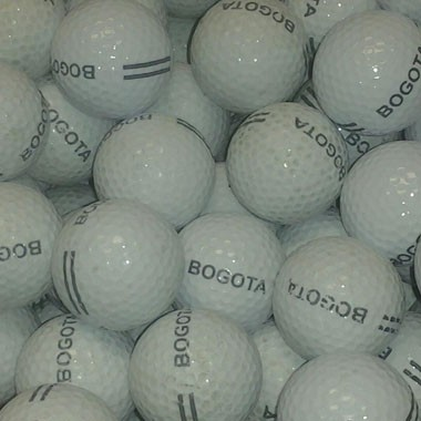 Used white 2pc mixed brand Range Balls in stock